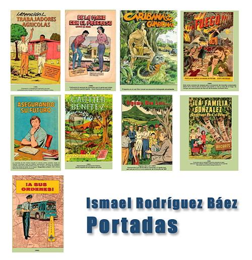 ismael rodríguez báez portadas comics