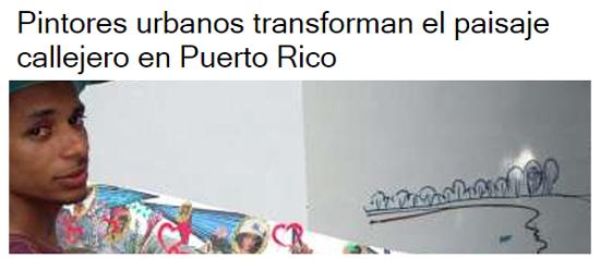 Pintores urbanos transforman el paisaje callejero en Puerto Rico-Autogiro arte actual