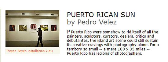 Puerto Rican Sun by Pedro velez