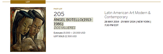 ANGEL BOTELLO-Puerto rican artists at art auctions-Autogiro arte actual