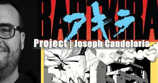 Bartkira los simpsons encuentran Akira de Joseph Candelaria