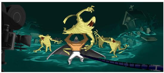 luchador-el-santo-en-google-estilo-animacion-autogiro-arte-actual
