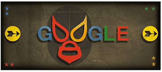 El Santo Enmascarado de Plata en Google