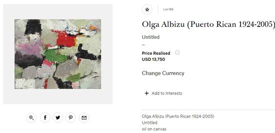 olga albizu untitled-Puerto rican artists at art auctions-Autogiro arte actual