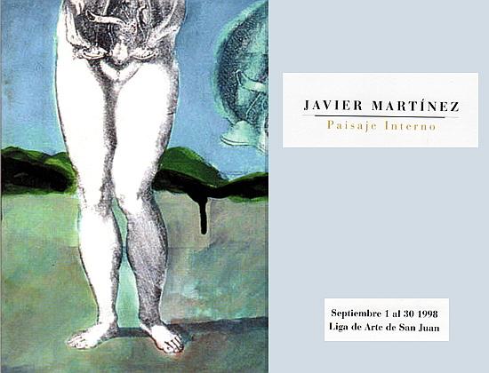 Catalogo de Pintura de Javier Martinez