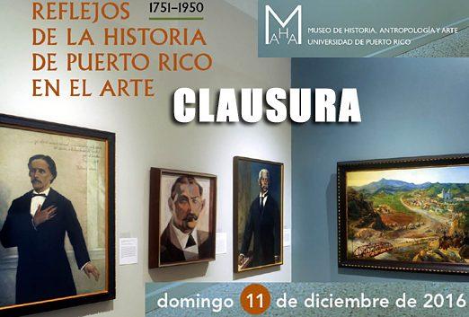 CLAUSURA REFLEJOS MUSEO UPR