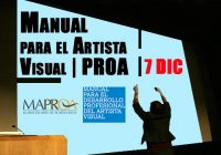 Manual para el Artista Visual | PROA | 7 Dic