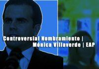 Controversial Nombramiento | Mónica Villaverde | Escuela de Artes Plásticas