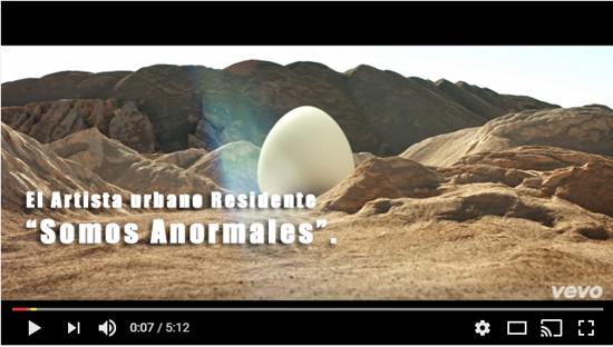somos anormales Residente | Autogiro Arte Actual