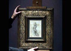Tesoro Nacional Dibujo Da Vinci de San Sebastián