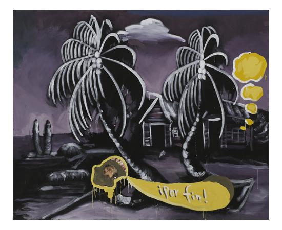 José Luis Vargas | Superstición | Roberto Paradise | ¡Por fin!, 2017 | Autogiro Arte Actual