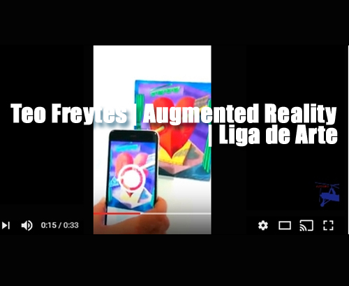 Teo freytes | Augmented reality | Autogiro Arte Actual