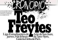 Teo Freytes un Cronopio Mayor en la Liga de Arte