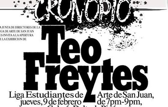 Teo Freytes   CRONOPO   Autogiro Arte Actual