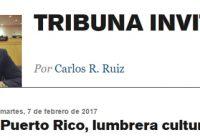 Desea un Puerto Rico Luminoso en su Cultura