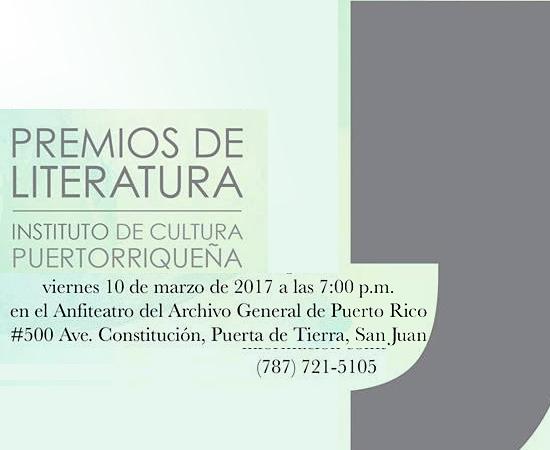 premios literatura icp | Autogiro Arte Actual