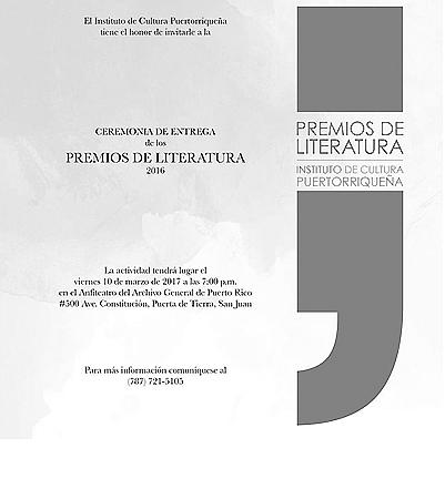 premios literatura icp invitacion-Autogiro Arte Actual