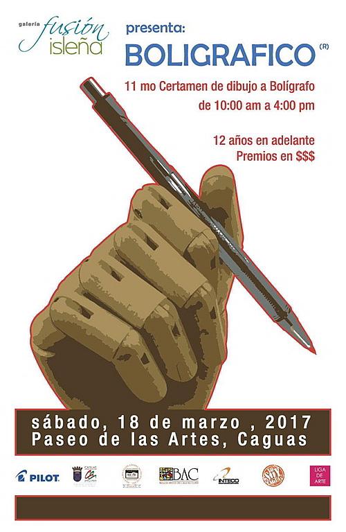 Bolígrafico2017 concurso-Autogiro Arte Actual