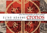 Elías Adasme | Cronos | Liga de Arte | Marzo 30