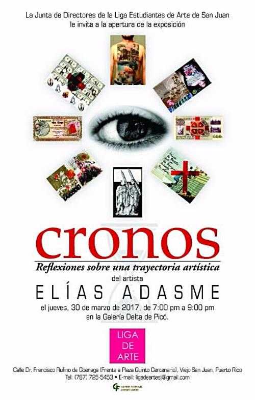 Elías Adasme | Cronos | Liga de Arte