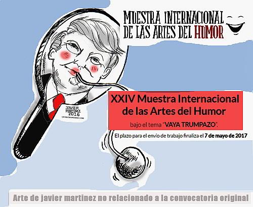 Muestra Internacional Humor-Autogiro Arte Actual
