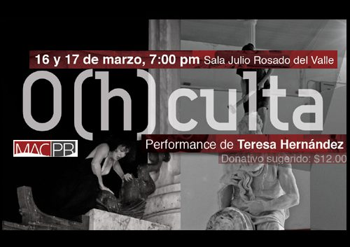 O(h)culta de Teresa Hernandez | Autogiro Arte Actual