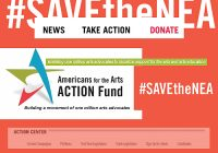 #SaveTheNEA | Campaña en favor del Arte