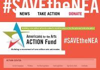 #SaveTheNEA | Campaña en favor del Arte