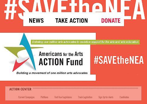 #SaveTheNEA