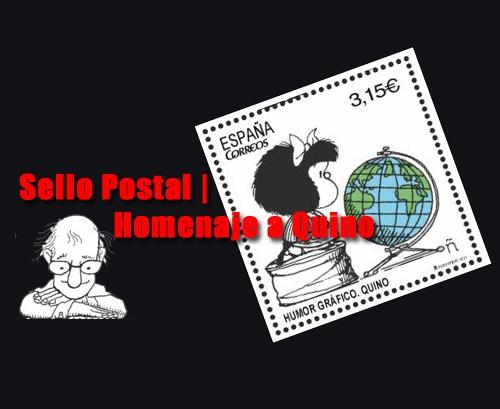 Sello Postal homenaje a Quino