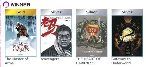 ganadores manga 2016. TOQUE LA IMAGEN PARA MENCIONES Y DETALLES