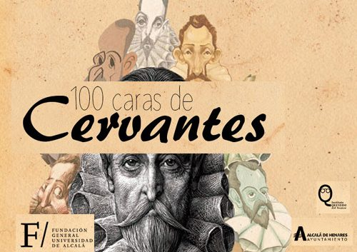 100 caras de Cervantes Caricatura