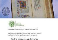 Semana de la biblioteca | Conferencias y Libros Raros