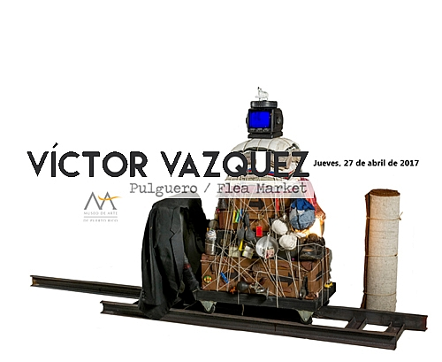 Victor Vazquez-Flea Market-autogiro arte actual