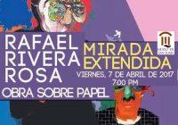 Mirada Extendida | Obra en Papel | Rafael Rivera Rosa | Museo de San Juan