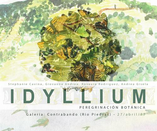 Idyllium peregrinación botánica