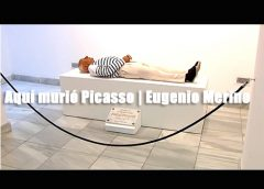 Aquí murió Picasso | Arte Anti-Turismo | Eugenio Merino