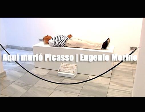 Aquí murió Picasso | Eugenio Merino | Autogiro Arte Actual | Artistas | arte en Puerto Rico | Arte Contemporáneo | Arte | Artistas Puertorriqueños | Cultura