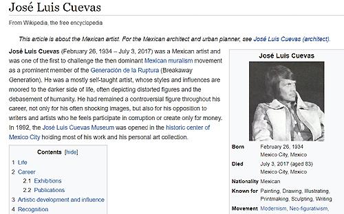 jose-luis-cuevas-en-wikipedia | Autogiro Arte Actual