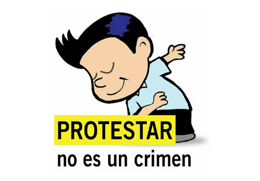 protestar-no-es-un-crimen   Autogiro Arte Actual
