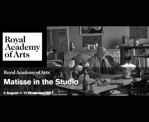 Matisse en su Estudio | Royal Academy of Art | Autogiro Arte Actual