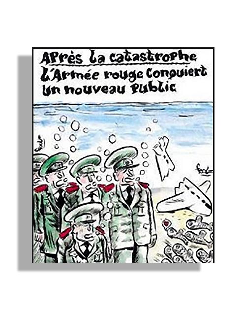 Charlie-Hebdo-avion-ruso-controversia | Autogiro Arte Actual
