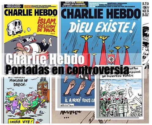 Charlie Hebdo | Portadas en controversia | Autogiro Arte Actual
