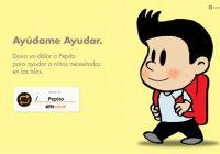Pepito Solidario con Niños afectados por Huracán