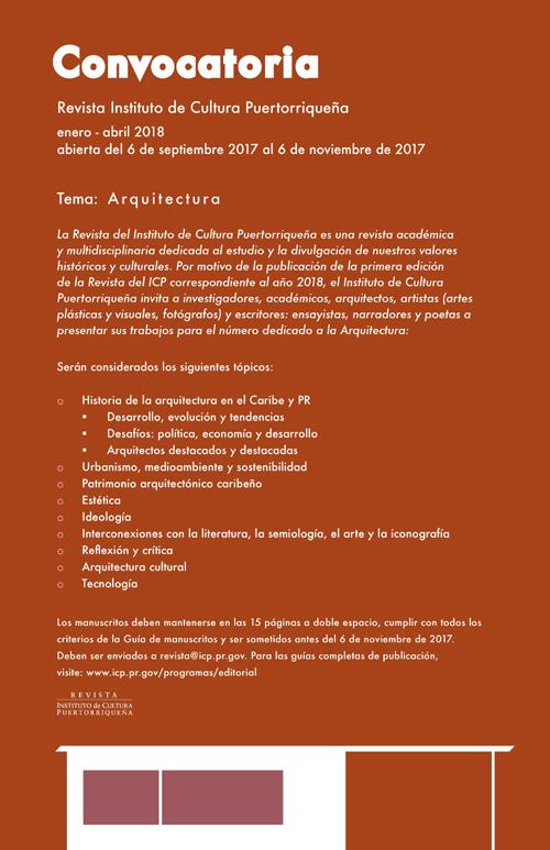 Revista del ICP | Convocatoria | Arquitectura | Autogiro Arte Actual
