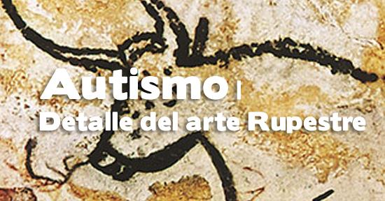 Autismo | Detalle del arte Rupestre | Autogiro Arte Actual