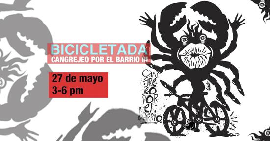 Cangrejeo | bicicletada | Santurce | Autogiro Arte Actual