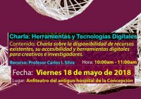 Charla | Herramientas y Tecnologías Digitales