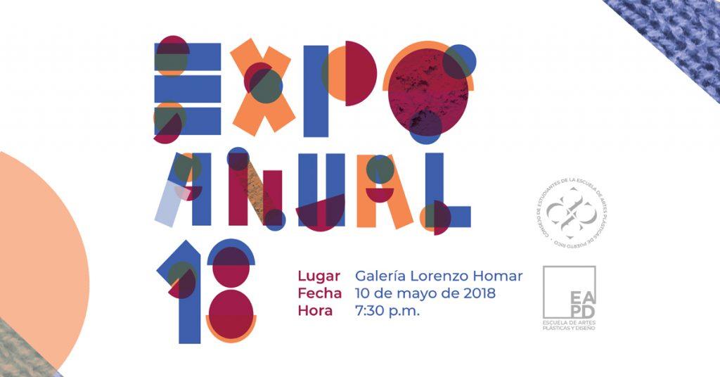 Expo Anual 18   exhibición anual de estudiantes   Autogiro Arte Actual