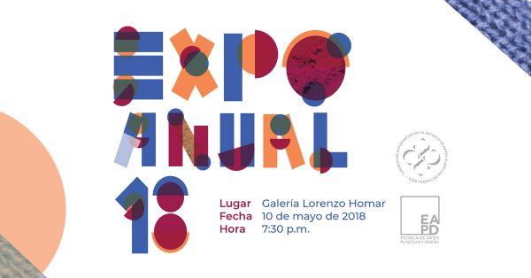 Expo Anual 18 | exhibición anual de estudiantes | Autogiro Arte Actual